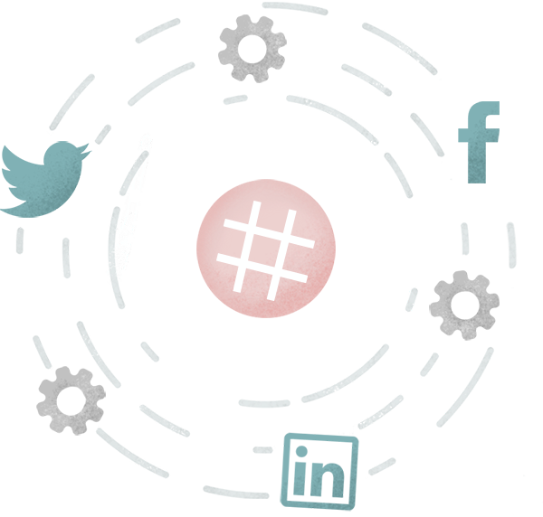 hashtag-circle-illustration